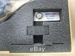 New Mitutoyo Digimatic 395-734-10 0-1.00005 0.001mm Digital Tube Micrometer