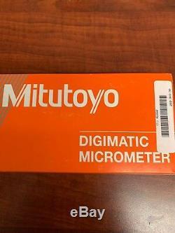 New Mitutoyo Digimatic Digital Outside Micrometer Ip65 0-1 293-349-30 Machinist