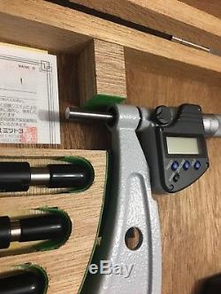 Nice Mitutoyo Digital 6-12 Micrometer. 0001