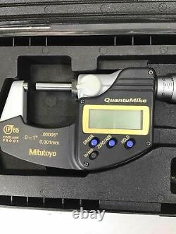 Pre-Owned Mitutoyo QuantuMike Coolant Proof Tool #293-185 READ