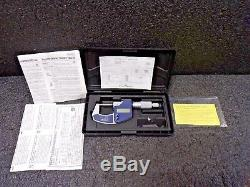 Ratchet Thimble Digimatic Micrometer, 0-1/0-25mm Range (In. /mm) 293-831-30(TS)