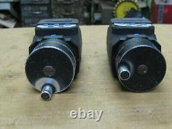 Two Mitutoyo Digital Micrometer 164-162 0-2.00005 0.001mm Resolution