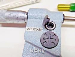 UNUSED MITUTOYO 3-4 DIGITAL MICROMETER WITH CASE 293-724-30 Includes Standard